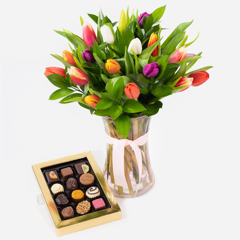 Spring Kisses with Belgian Chocolates