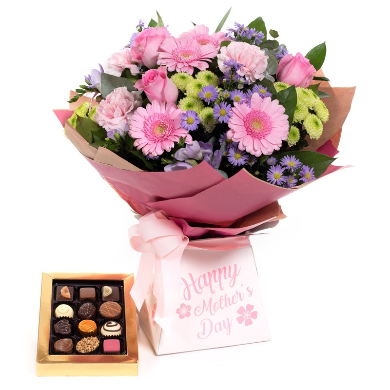 Mother's Day Wishes with Belgian Chocolates